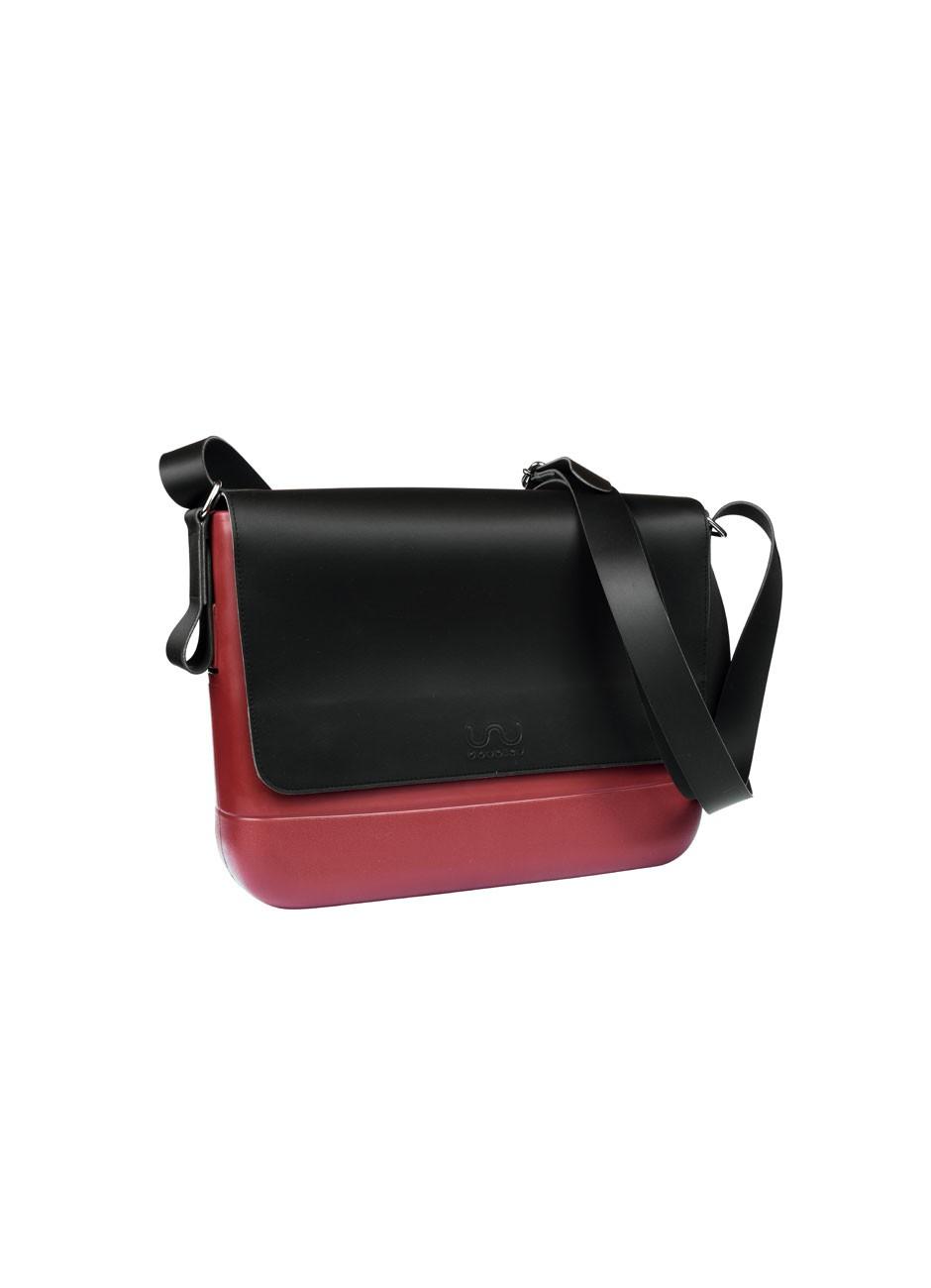 torba listonoszka maroon
